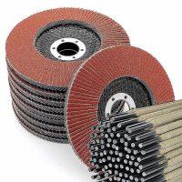 discos abrasivos lija electrodos soldadura diska urratzaileak lixa soldatzeko elektrodoak